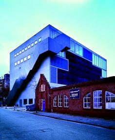 Poppodium als nieuw theater - Effenaar in Eindhoven door MVRDV - de Architect