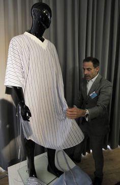 2330a016d0 Ben de Lisi Gives UK Hospital Gowns a Designer Makeover