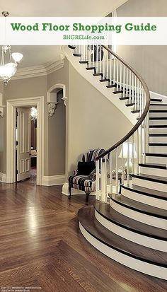 Shopping Guide: Learn how to select the best type of wood flooring for your home. Read more at: http://bhgrelife.com/wood-floor-shopping-guide/