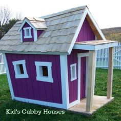 Some sensational creations in this collection. Wonderful Wednesday – Kid's Cubby Houses