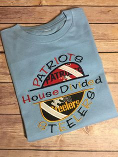 House Divided NFL T-Shirt Child Personalized T-Shirt Adult Nfl T Shirts bfe710641