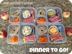 Great ideas and supplies for dinners on the go!
