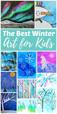 4de16ff83a1b1f The Best Winter Art Projects for Kids and Teens