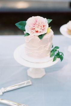 Gallery & Inspiration | Collection - 3297 - Style Me Pretty | 30 Pale Pink Cakes So Pretty They'll Make You Blush