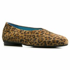 Cool Thierry Rabotin Grace Ballet Flat Natural Leopard Suede