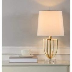 New Oundle Table Lamp by Everly Quinn. Lighting Home Decor Furniture Grey Table Lamps, Gold Table, Table Lamp Sets, Lamp Shade Store, Quiz, Steel Table, Light Bulb Bases, 5 W, Diffused Light