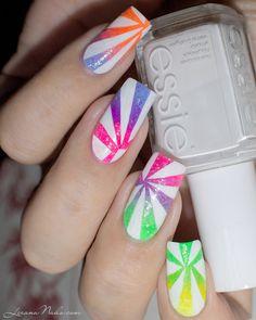 Nail Art été - Repro Tartofraises