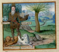 Edward III with unicorn and lion. England 1567. Hunti. Lib HN 160