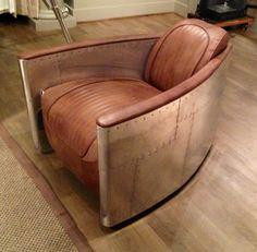 Steam punk Chair: Restoration Hardware