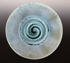 porcelain plate by Noël Keag - spray glazed Serving Bowls, Glaze, Porcelain, Pottery, Stone, Tableware, Enamel, Ceramica, Porcelain Ceramics
