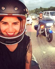 The babe in the background is a total badass and a huge inspiration to me! Murphy rode the rally circuit by herself in the 80s and has provided me support and advise since day one. She literally packed my bike for me the day I left because I had no idea what I was doing. #thatswhatfriendsarefor #bikerbabe #harleywomen #womenwhoride #badass #independent #empowerment #inspiration #bikelife #harleydavidson #selfie #lifeisgood #roartotheshore #ftmyers #hogrally #florida