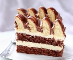 Ciasto Marysieńka - I Love Bake Vanilla Cake, Tiramisu, Baking, Ethnic Recipes, Food, Kitchens, Bakken, Essen, Meals