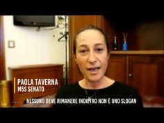 Marcia per il #RedditoDiCittadinanza a Perugia, l'appello di Paola Taverna