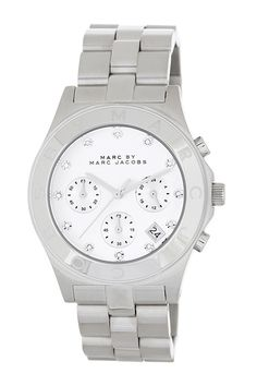 Women's Blade Crystal Accented Watch