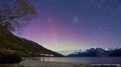 Aurora Australis southern lights stun New Zealand