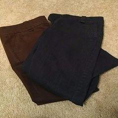 2 Pair of capri pants Good for work New York & Company Pants Capris