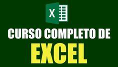 Completo curso de Excel gratis, para aprender desde lo más básico hasta lo más avanzado de este programa.