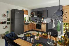Eckküche PN100/80 online kaufen ➤ mömax Kitchen Cabinets, Table, Furniture, Home Decor, Exhaust Hood, Engineered Wood, Interior Design, Home Interior Design, Desk