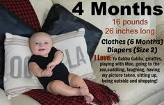 Month-by-Month pictures     #baby #babyboy #kids