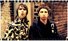 Ian Brown with Noel Gallagher