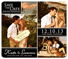 """""""Some Day is Here"""" Save the Date Magnet"""