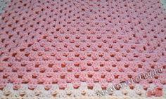 Horgolt nagyi-négyzetek (granny square) - Kreatív+Hobby Alkotóműhely Afghan Crochet Patterns, Blanket, Knitting, Flowers, Tricot, Breien, Stricken, Weaving, Blankets