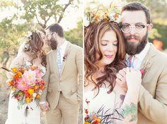 Bohemian Wedding in Texas on Thanksgiving: Ashley + Peter | Green Wedding Shoes Wedding Blog | Wedding Trends for Stylish + Creative Brides
