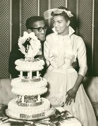 Sammy Davis Jr and Loray White #celebrity #weddings