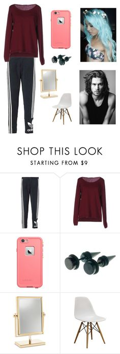 """""""Hair Dyeing with V"""" by kathrynclifford on Polyvore featuring adidas Originals, Fred Perry, Merrell, women's clothing, women's fashion, women, female, woman, misses and juniors"""