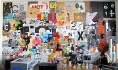 Appetite Engineers Studio Wall Collage by MARTIN VENEZKY'S APPETITE ENGINEERS, via Behance