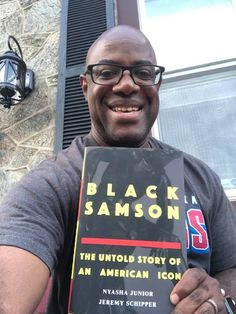 Black Samson: The Untold Story of an American Icon x Nyasha Junior & Jeremy Schipper Shout Out, American, Cover, Black, Black People, Slipcovers