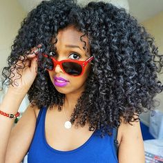 , @naturally_zeze #naturalhair #MyHairCrush