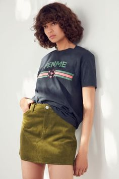 Shop BDG Frayed Corduroy Mini Skirt at Urban Outfitters today. We carry all the latest styles, colors and brands for you to choose from right here.