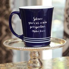 Mother Teresa Silence Mug