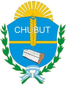 "COA of Chubut, is a province in southern Argentina, situated between the 42nd parallel south, the 46th parallel south, the Andes range to the west, and the Atlantic ocean to the east. The province's name derives from the Tehuelche word chupat, meaning ""transparent,"" their description of the Chubut River. The largest city is Comodoro Rivadavia in the south of the province. The administrative capital is Rawson. Other important cities are Puerto Madryn, Trelew, Esquel and Sarmiento"