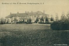 Minden,  the John Berwind estate designed by Grenville Snelling circa 1912 in Bridgehampton.