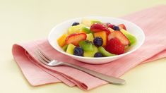 Refreshing fruit salad is welcome anytime -- serve at brunch, at dessert or snack time, or bring to a potluck. Snacks For Work, Healthy Work Snacks, Healthy Appetizers, Eating Healthy, Fruit Salad Recipes, Dessert Recipes, Desserts, Fruit Salads, Nutella