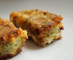 Broccoli-potato croquettes