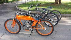 Gas Powered Bicycle, Motor Cruiser, Four Stroke Engine, Antique Motorcycles, Drift Trike, Push Bikes, Motorized Bicycle, Cafe Racer Bikes, Motorcycle Engine