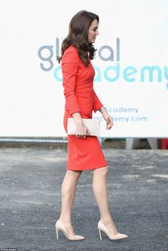 Kate, William and Harry visited the Global Academy in Hayes, west London this morning to meet trainee production staff and visit the breakfast shows of flagship radio stations.