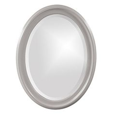 Howard Elliott George Oval Wall Mirror - 25W x 33H in.