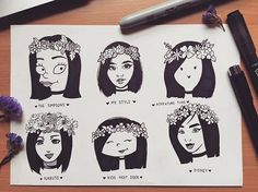 my #stylechallenge  yes i had to be extra with the flower crowns!
