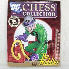 DC Chess Collection Issue No.8 The Riddler (Black Bishop) DC Approved - https://lostparcels.com/parcel-company-3/uncategorized/dc-chess-collection-issue-no-8-the-riddler-black-bishop-dc-approved/