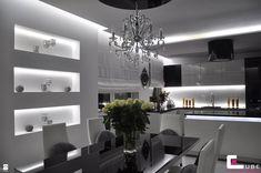 Jadalnia styl Glamour - zdjęcie od CUBE Interior Design - Jadalnia - Styl…