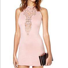 Blush Nasty Gal Dress