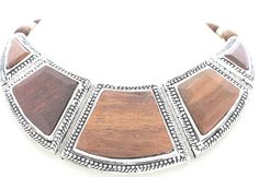 Collar egipcio madera #girl #pretty #wood #necklace #new #trendy