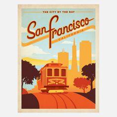 SF Trolley 18x24