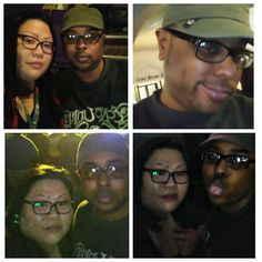 My babe and I at Wu Year's Eve 2016 Las Vegas