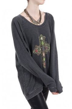 Cozy up in the Cross Raglan by @Chaser Brand for $65.00 #sweatshirts #pullovers #chaserbrand #giftideas