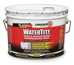 Zinsser Paint Alkyd Enamel Bright White 5001